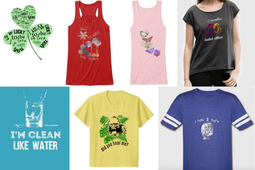 t-shirt design showcase