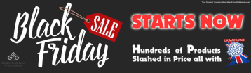 Black Friday Sale Banner 2017
