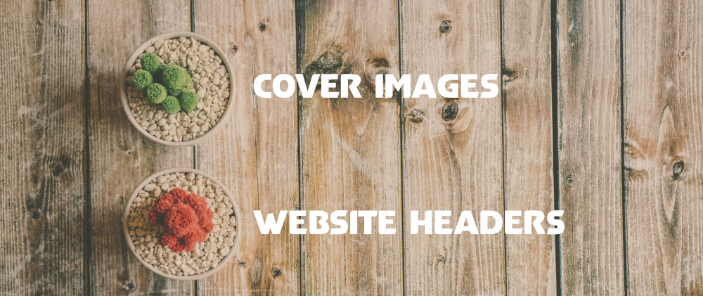 covers headers image design