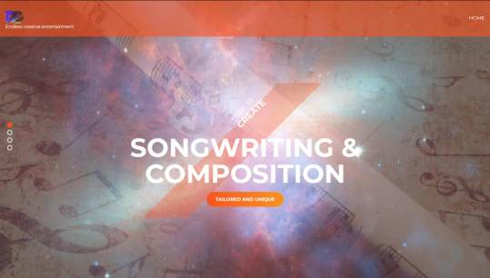 tailored unique songwriting music composition