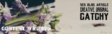 SEO creative web content writing - blog, articles, descriptions
