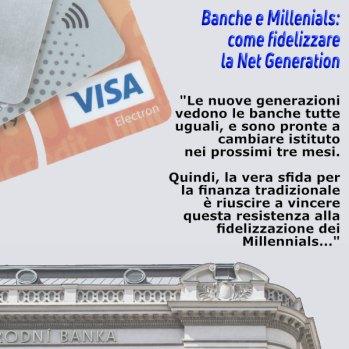 Banche e Millenials - come fidelizzare la Net Generation article writing